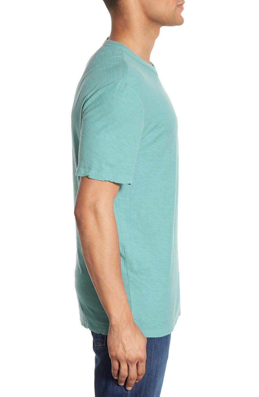 Alternate Image 3  - James Perse Classic Slub Crewneck Pocket T-Shirt