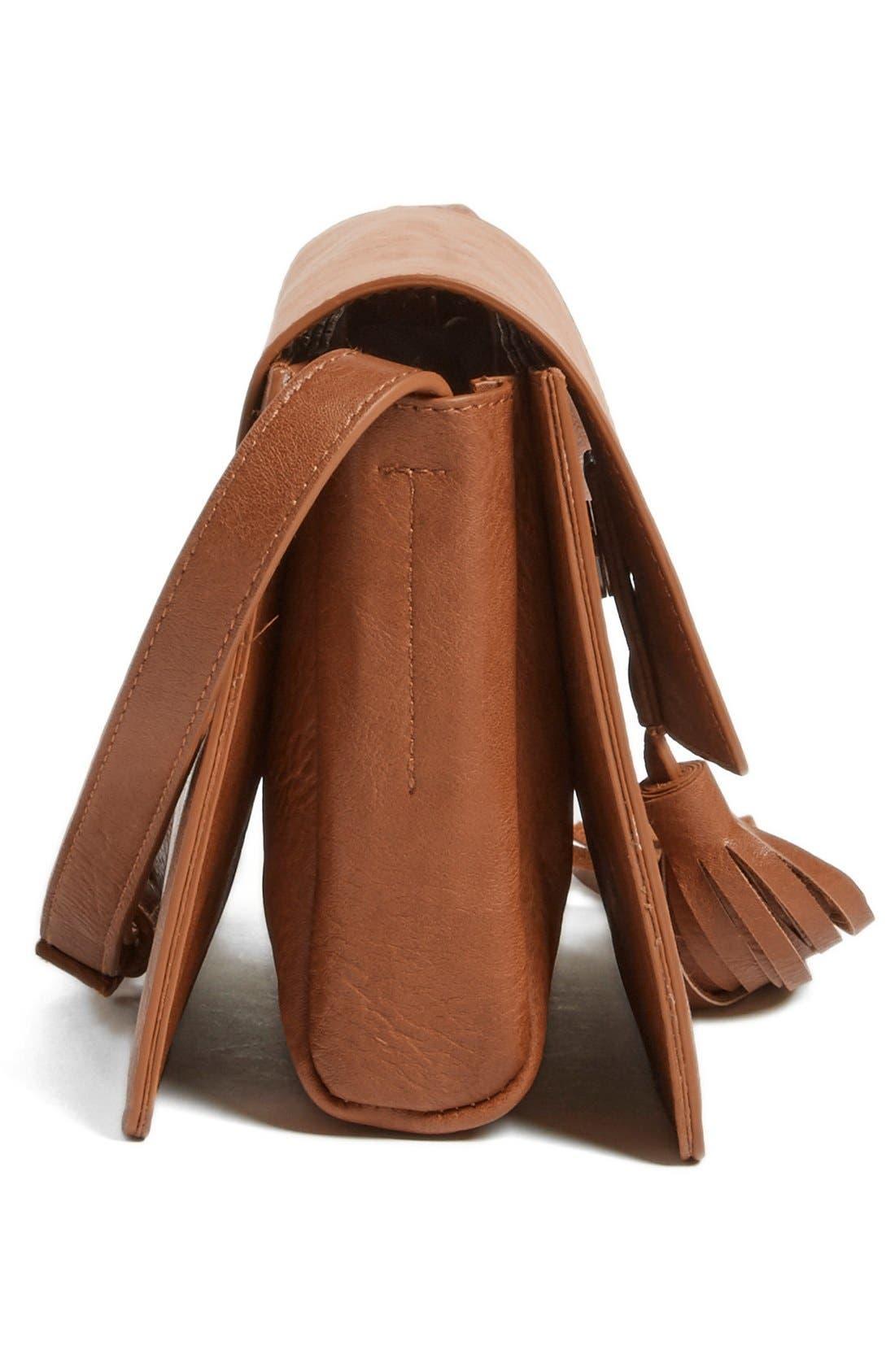 Alternate Image 5  - BP. Tassel Faux Leather Crossbody Bag