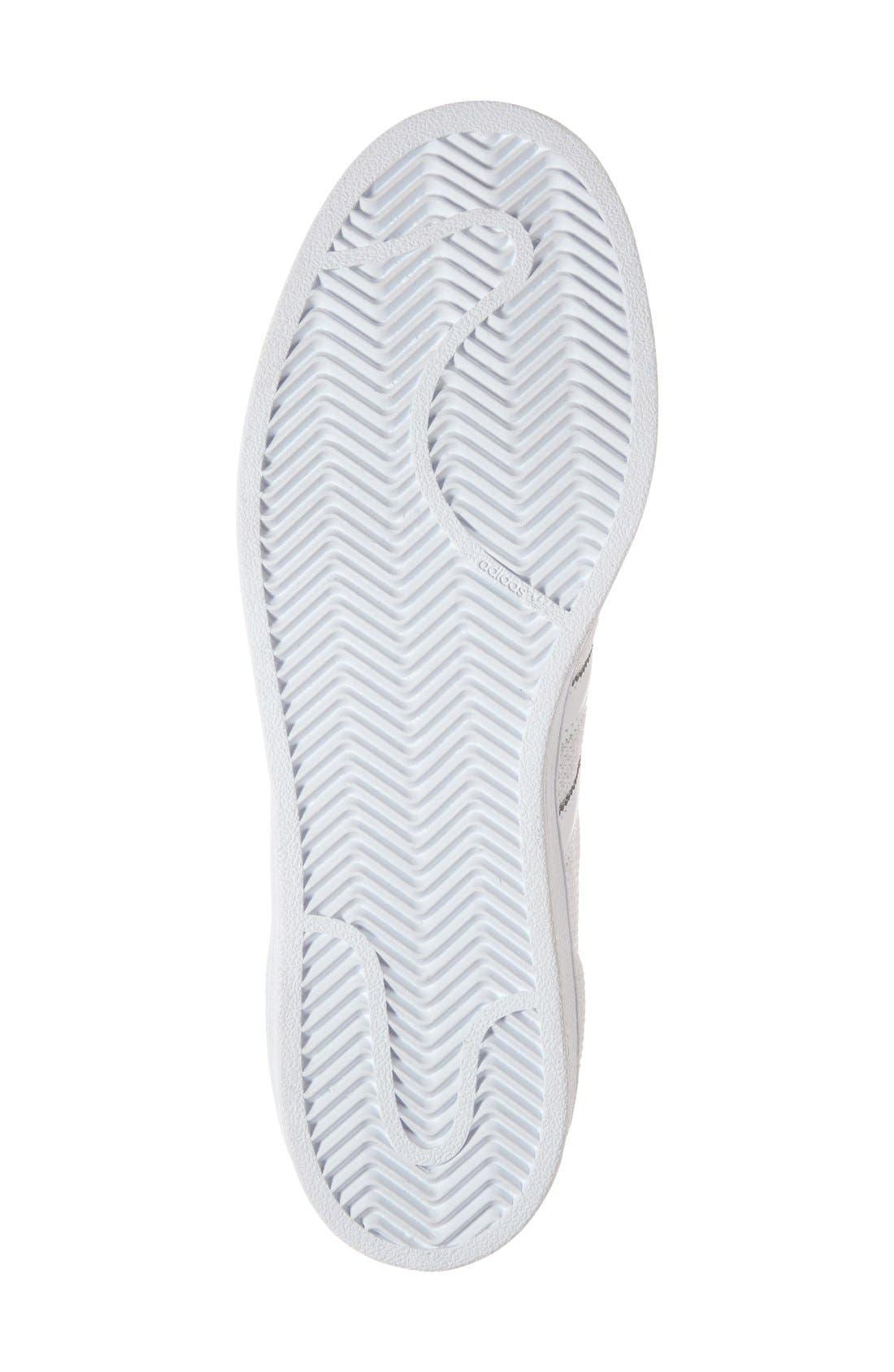 Alternate Image 4  - adidas 'Superstar' Mesh Sneaker (Women)