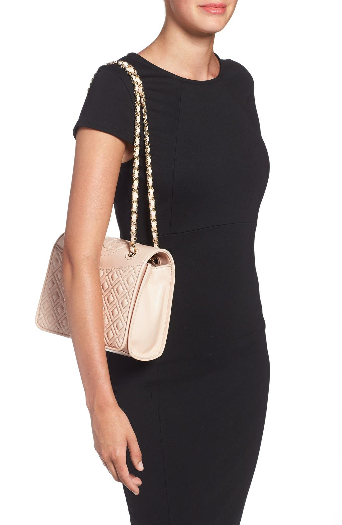 Alternate Image 2  - Tory Burch 'Medium Fleming' Leather Shoulder Bag