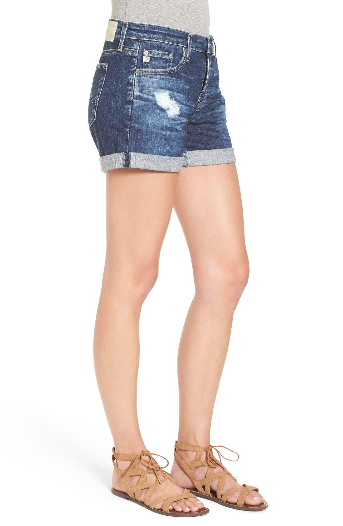 Alternate Image 3  - AG 'Hailey' Denim Shorts (11 Years Sail Away)