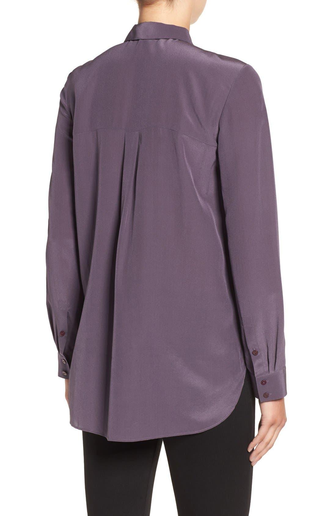 Alternate Image 2  - Eileen Fisher Silk Shirt