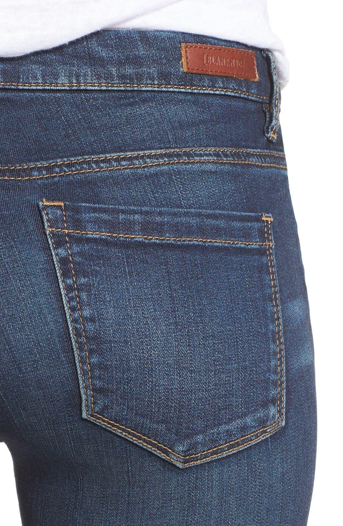 Alternate Image 6  - BLANKNYC Distressed Skinny Jeans (Junk Drawers)