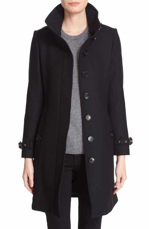 Women's Burberry Black Outerwear Sale: Coats & Jackets | Nordstrom