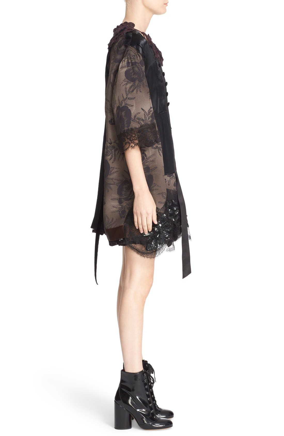 Alternate Image 5  - MARC JACOBS 'Shadow Tulip' Embellished Shift Dress