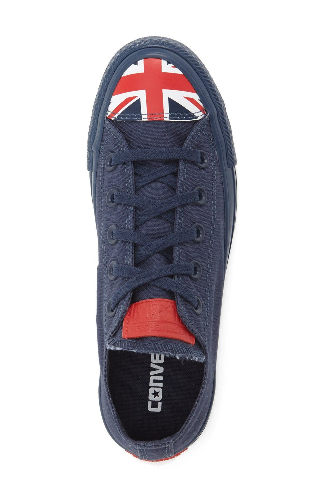 Alternate Image 3  - Converse Chuck Taylor® All Star® 'Ox - Flag Toe' Low Top Sneaker (Women)