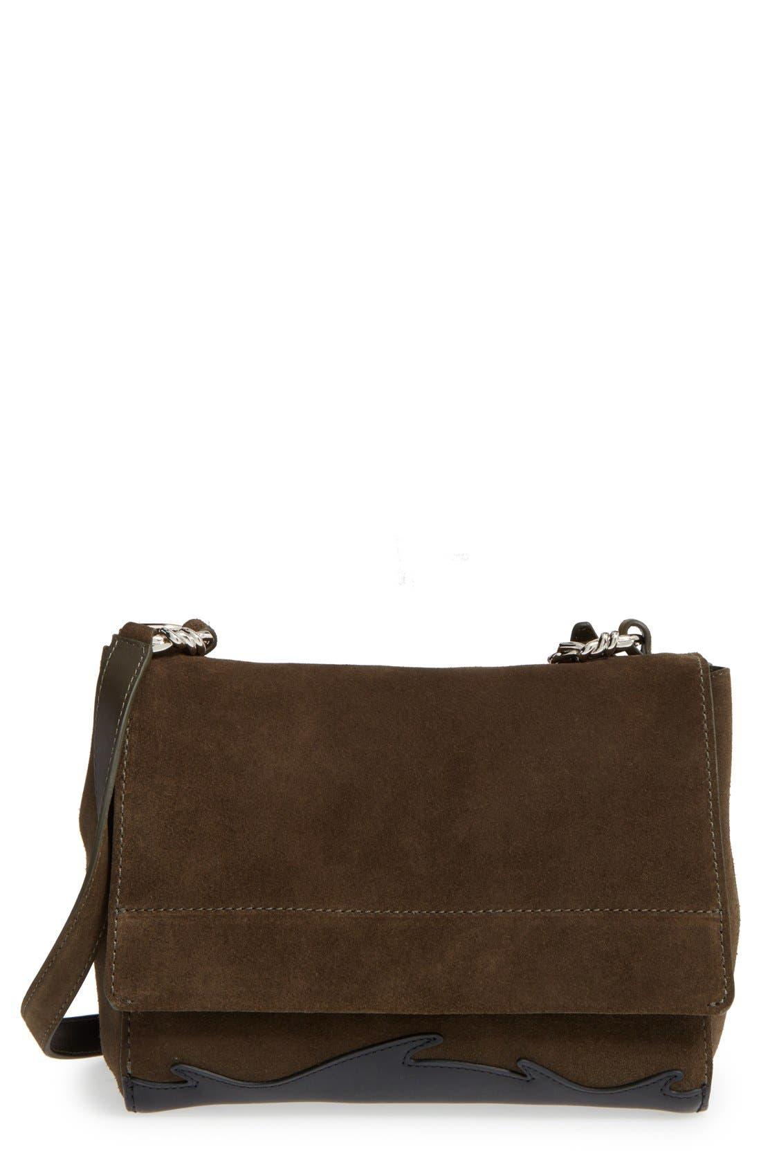 Alternate Image 1 Selected - 3.1 Phillip Lim 'Ames - Patchwork' Leather Crossbody Bag
