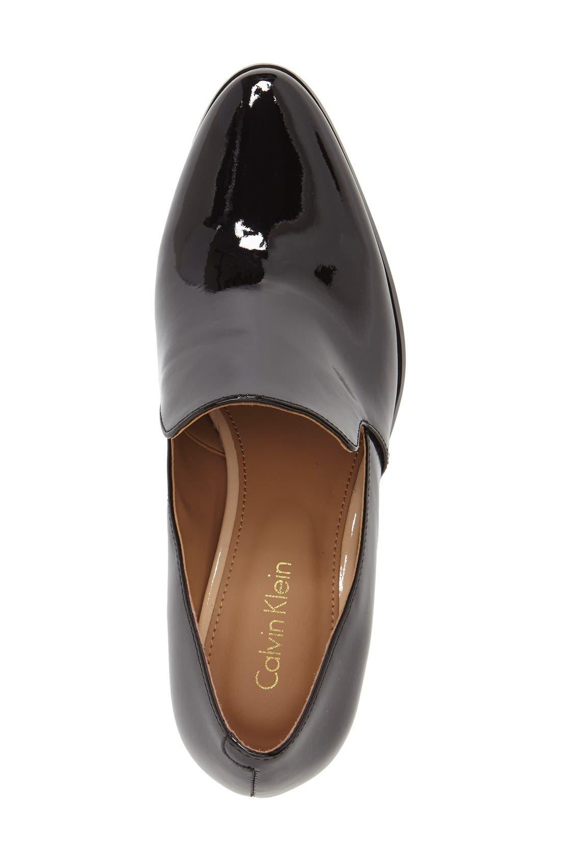 Alternate Image 3  - Calvin Klein 'Faye' Block Heel Pump (Women)