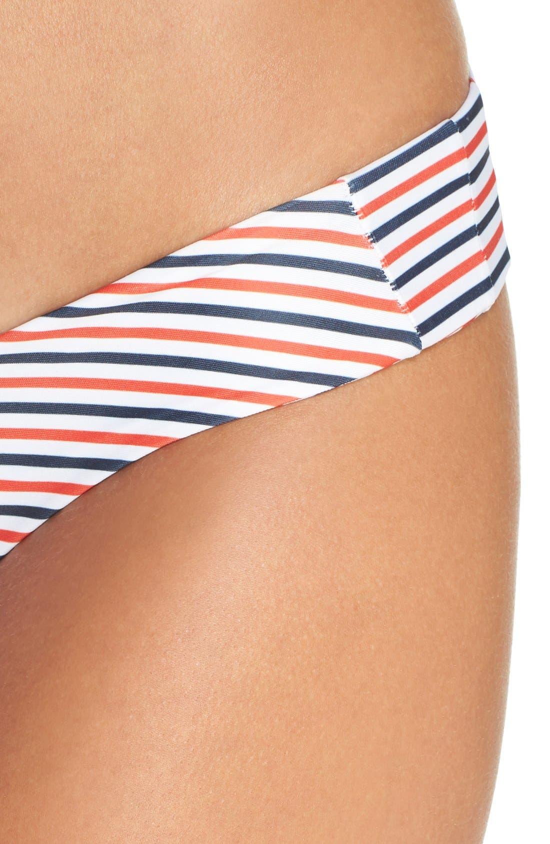 Alternate Image 4  - Stone Fox 'Tucker Stripes' Bikini Bottoms