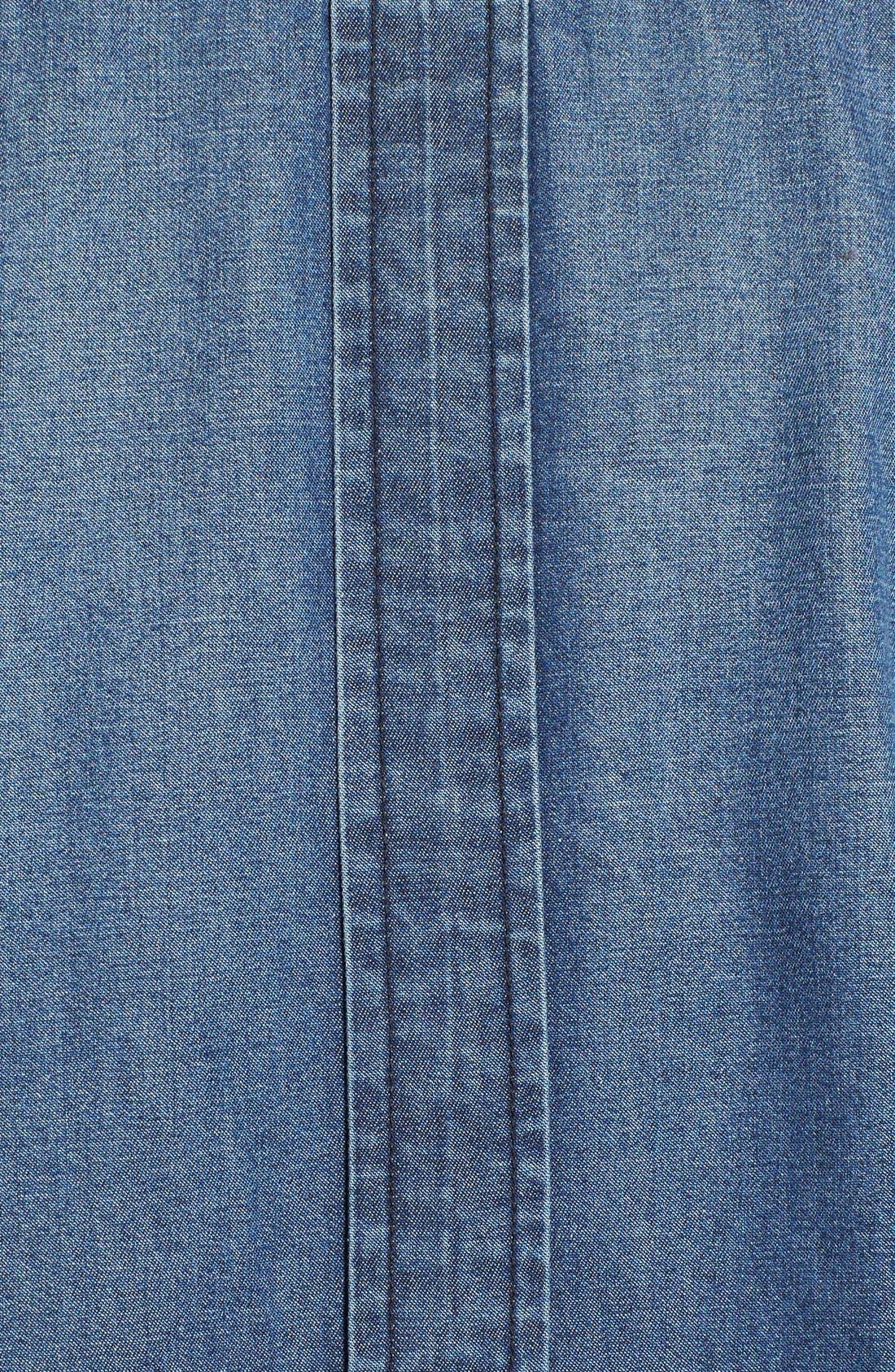Alternate Image 5  - 7 For All Mankind® Shadow Pocket Denim Shirt