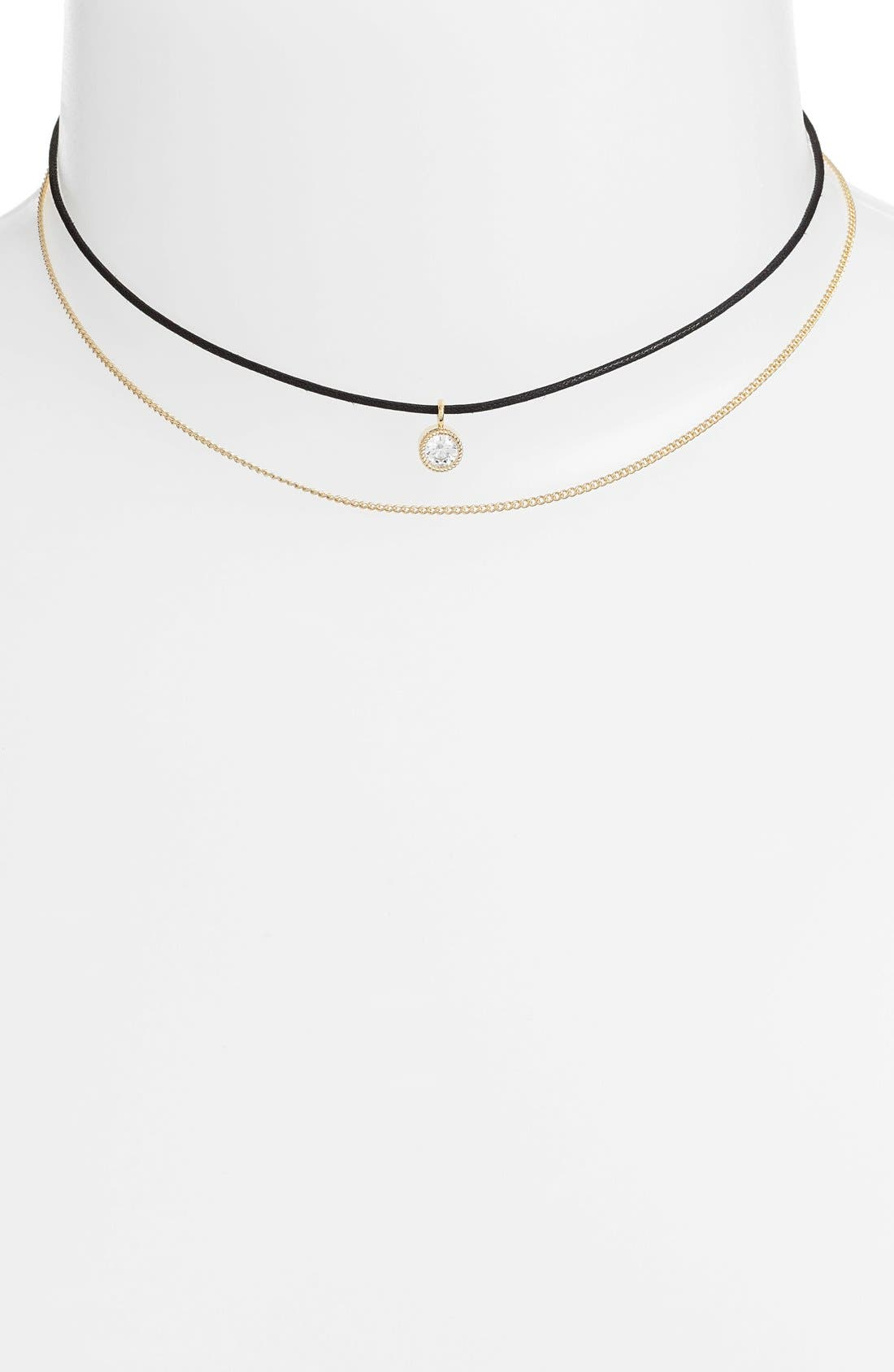 JULES SMITH 'Merci' Choker Necklace