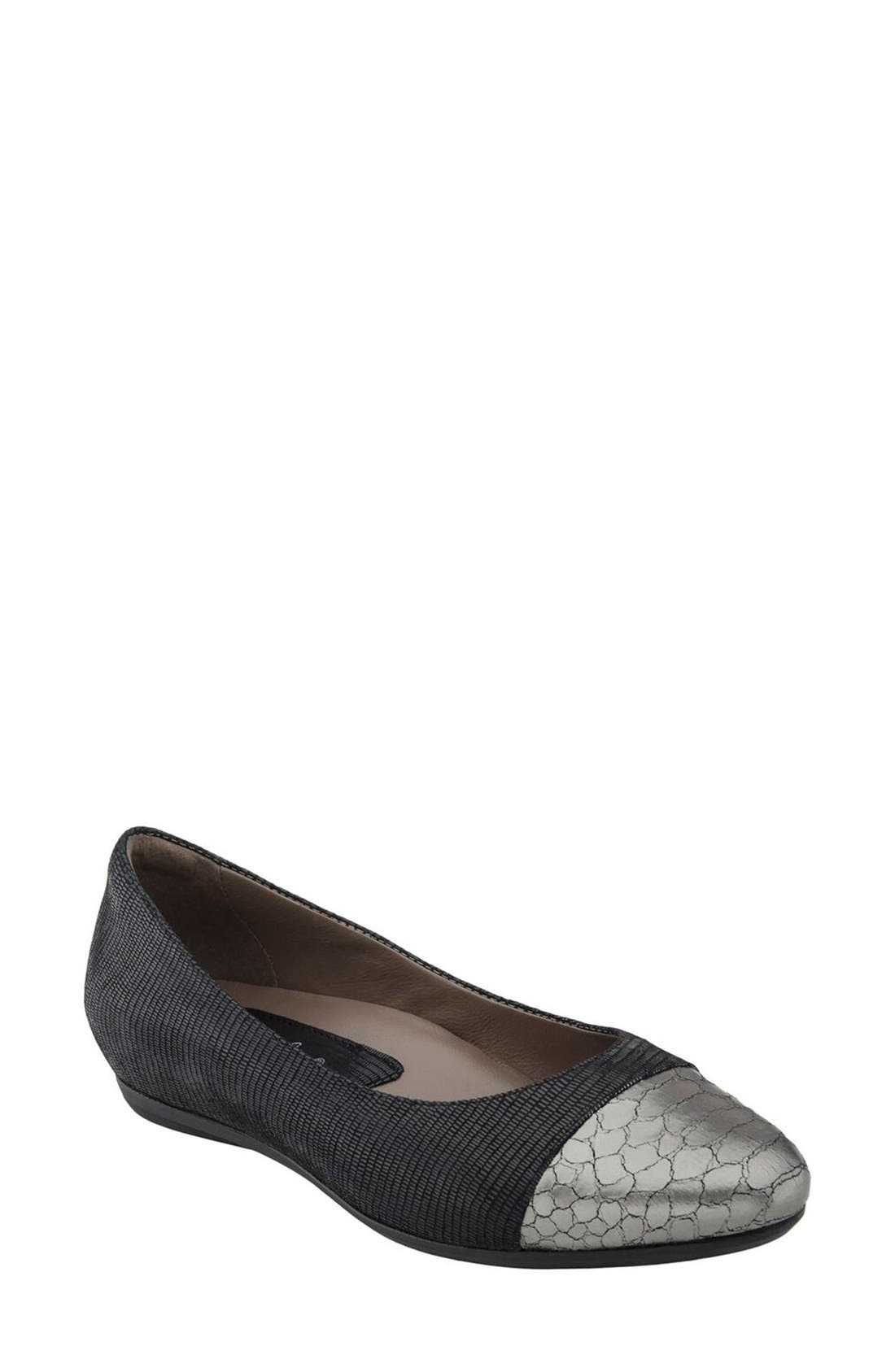 Earthies® 'Hanover' Cap Toe Flat (Women)