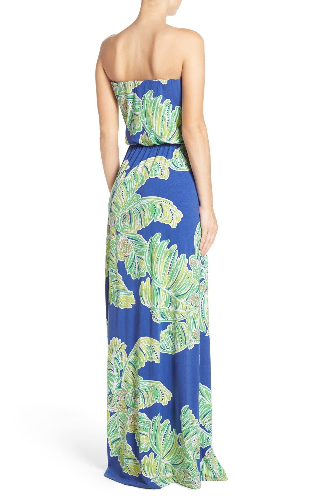 Alternate Image 2  - Lilly Pulitzer® 'Rosalina' Strapless Maxi Dress