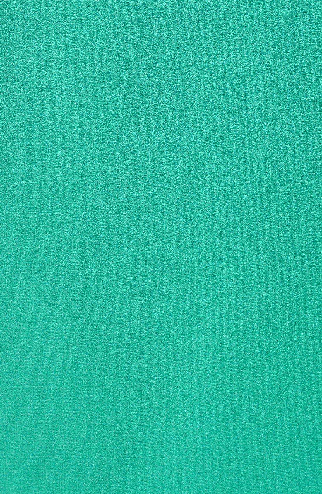 Alternate Image 6  - Charles Henry Off the Shoulder Dress (Regular & Petite)