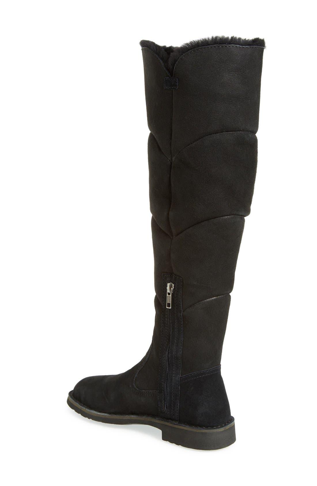 Alternate Image 2  - UGG® Sibley Over the Knee Water Resistant Boot (Women)