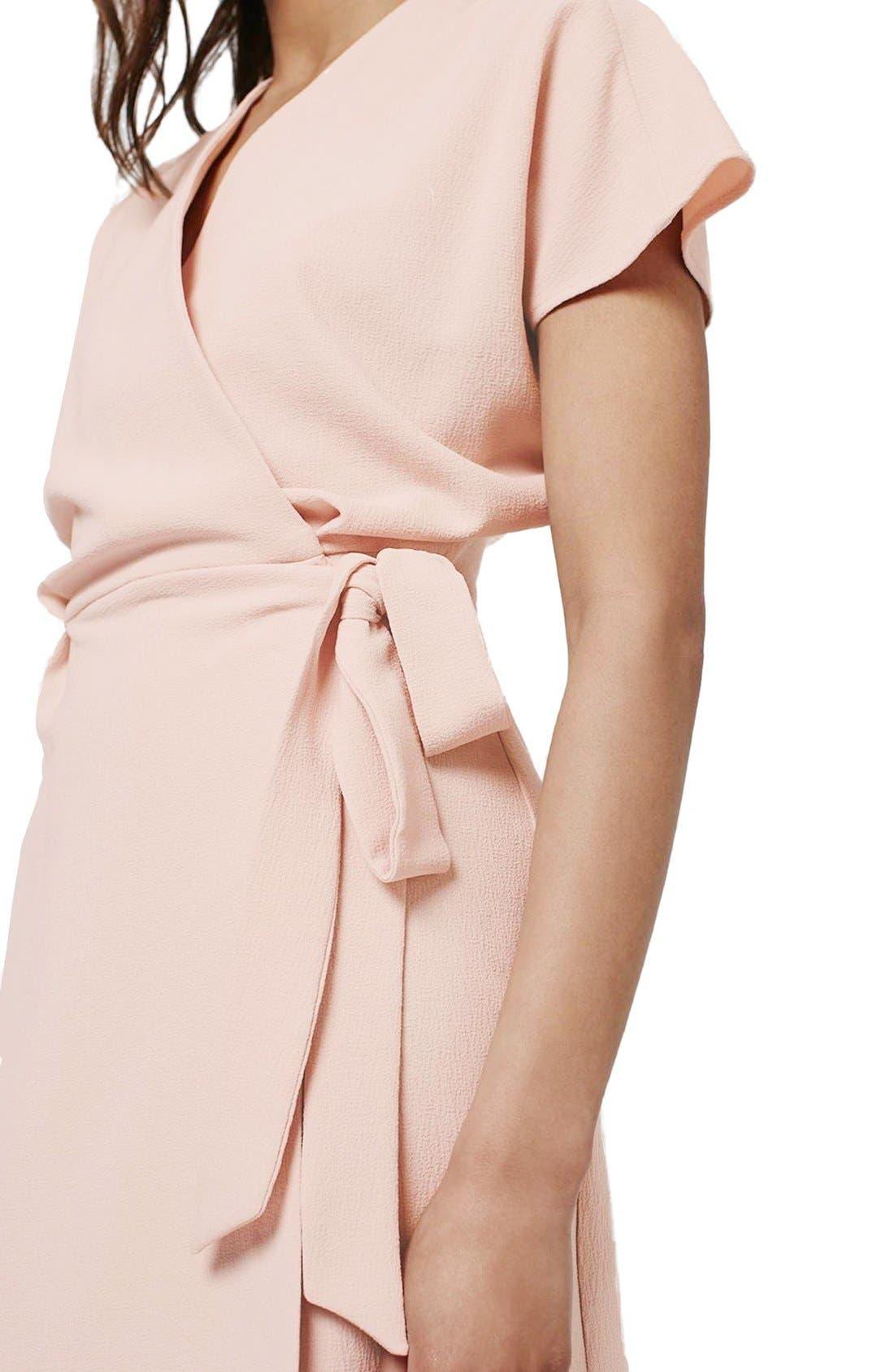 Alternate Image 5  - Topshop Crepe Wrap Dress