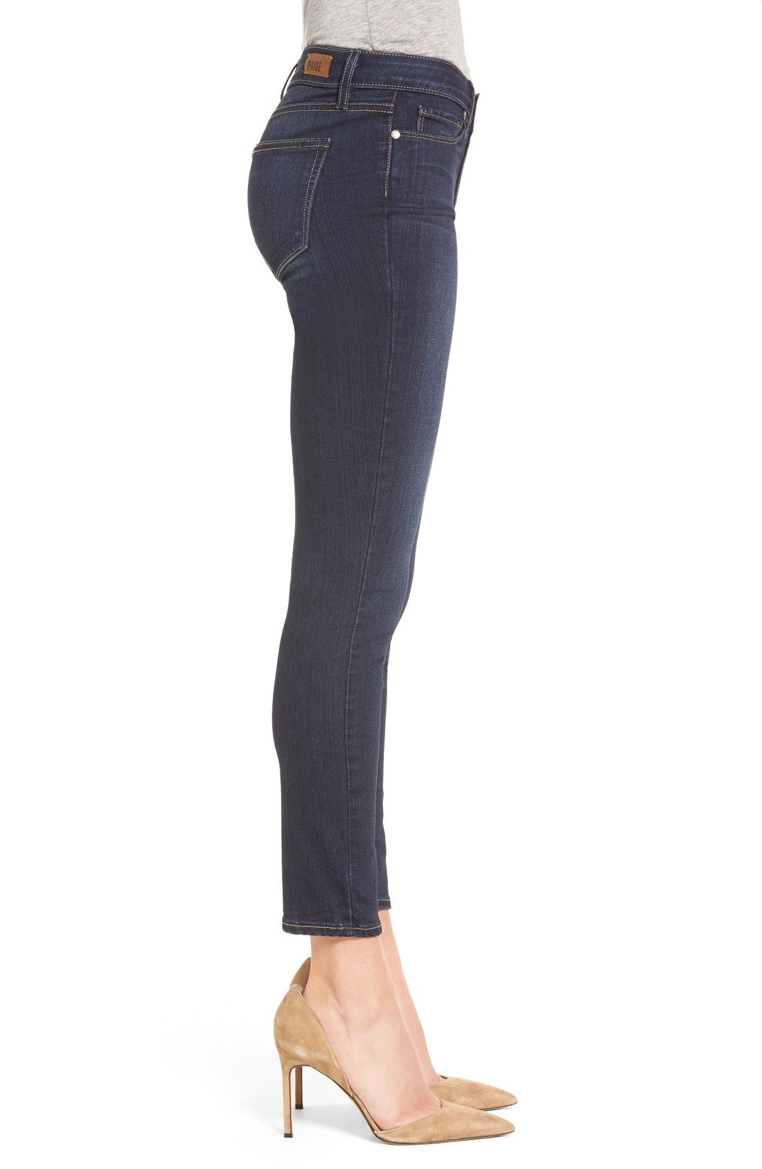 Alternate Image 4  - PAIGE Transcend - Verdugo Ankle Ultra Skinny Jeans (Hartmann) (Nordstrom Exclusive)