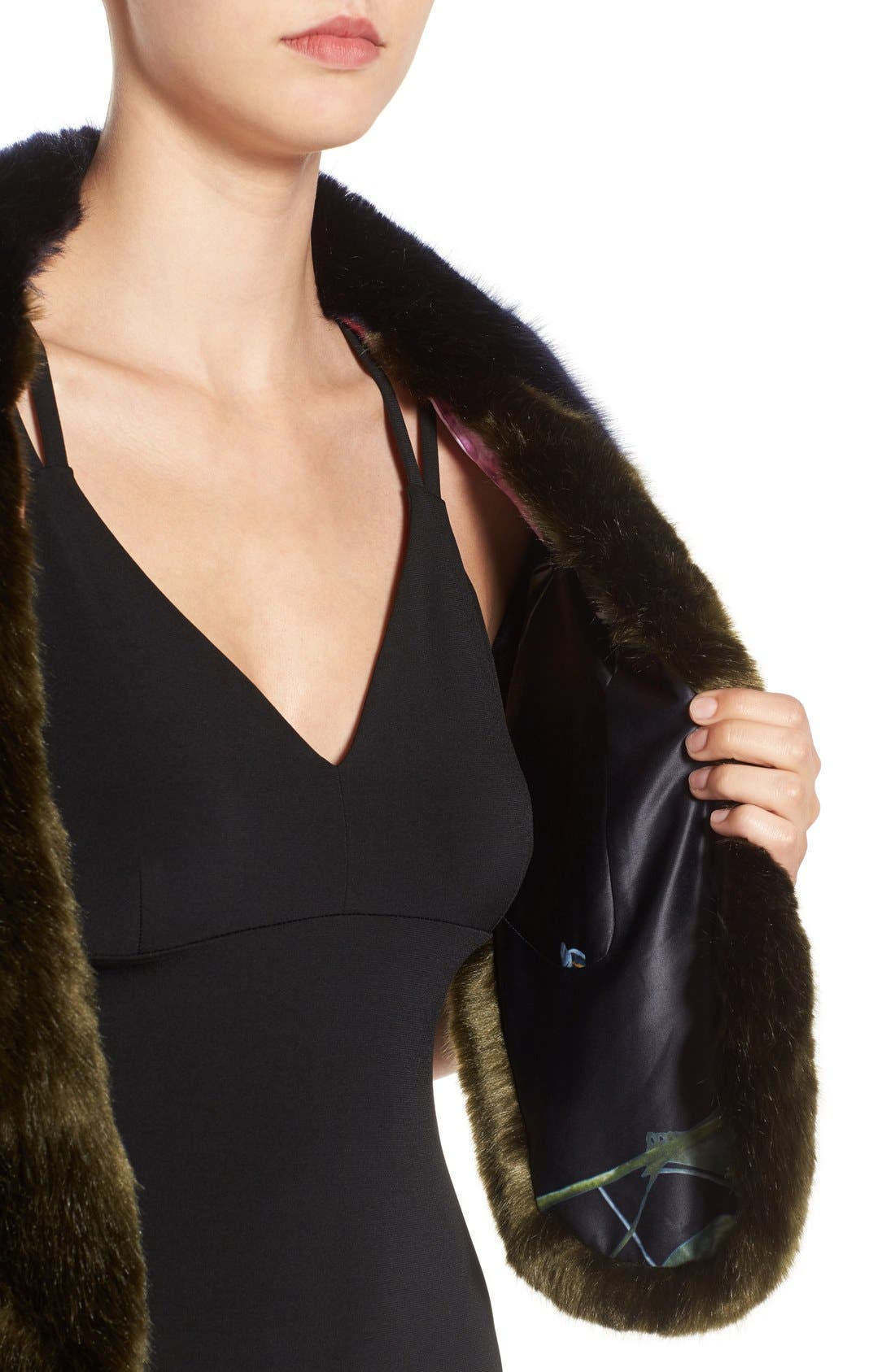 Alternate Image 3  - Ted Baker London Faux Fur Stole