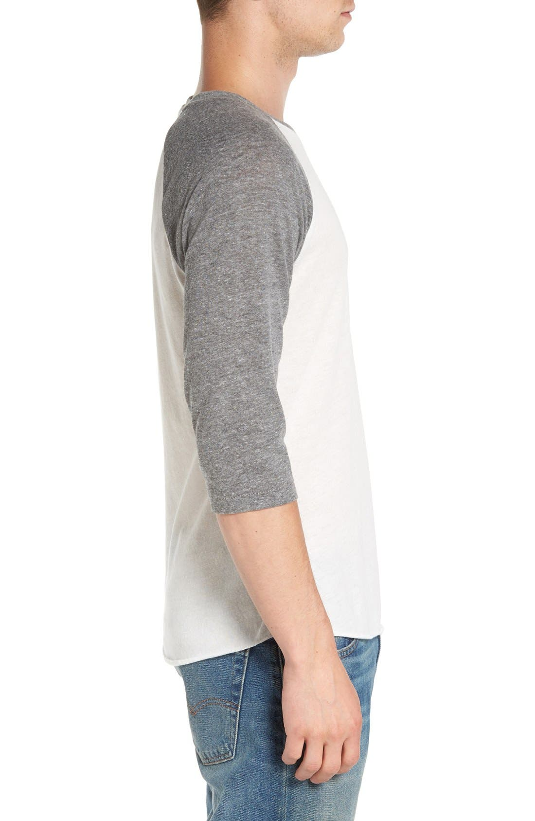 Alternate Image 3  - Alternative Colorblock Baseball T-Shirt