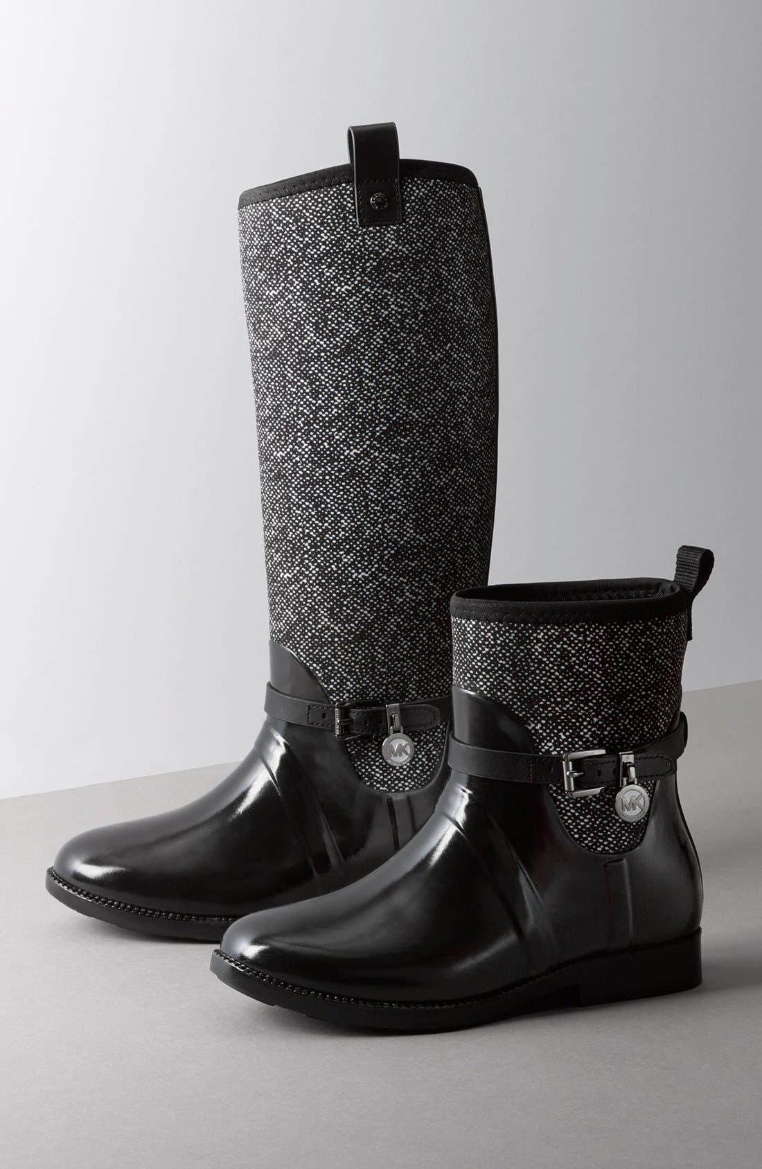 Alternate Image 5  - MICHAEL Michael Kors Charm Stretch Rain Boot (Women) (Nordstrom Exclusive)