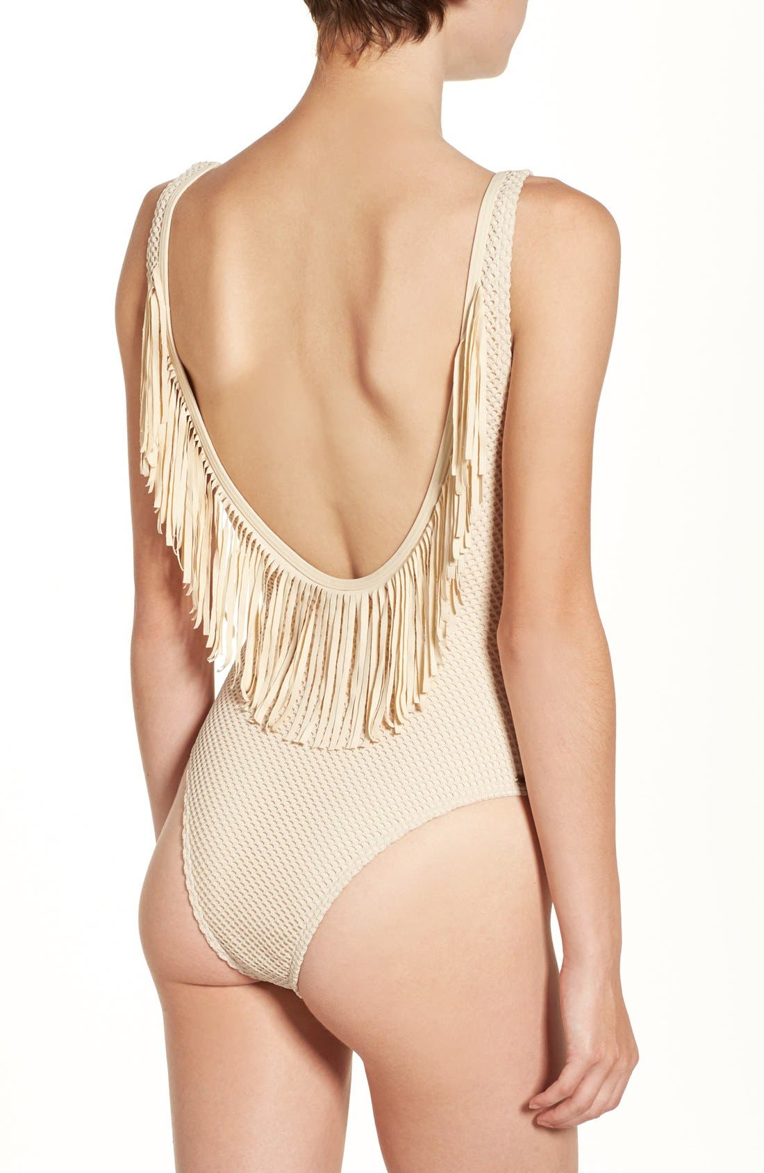 Alternate Image 1 Selected - Rip Curl 'Joyride' Fringe One-Piece Swimsuit