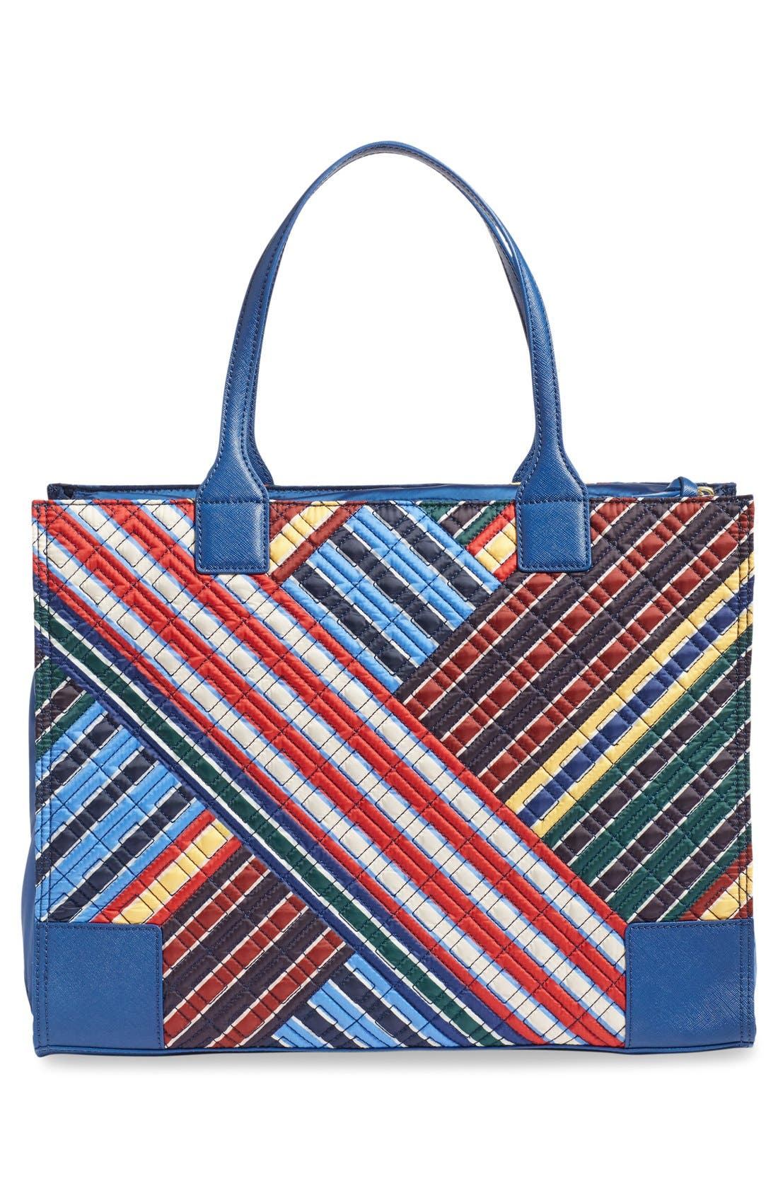 Alternate Image 2  - Tory Burch 'Ella - Quilted Stripe' Tote
