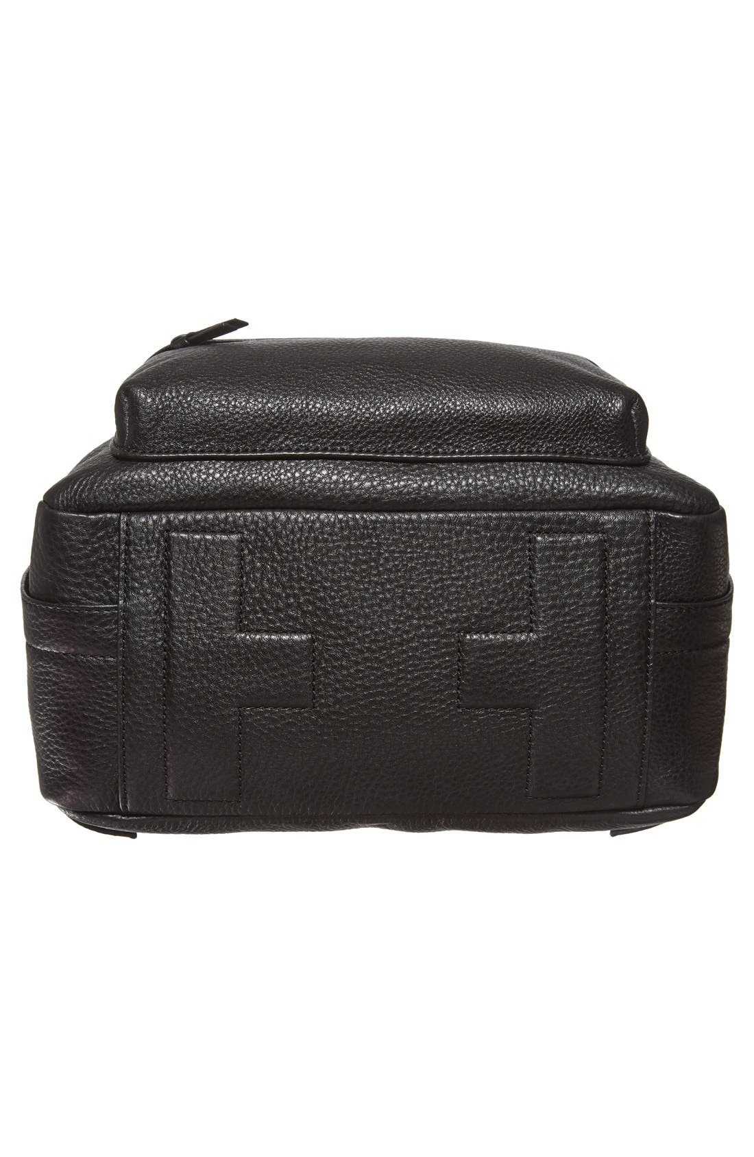 Alternate Image 6  - Tory Burch Pebbled Leather Backpack