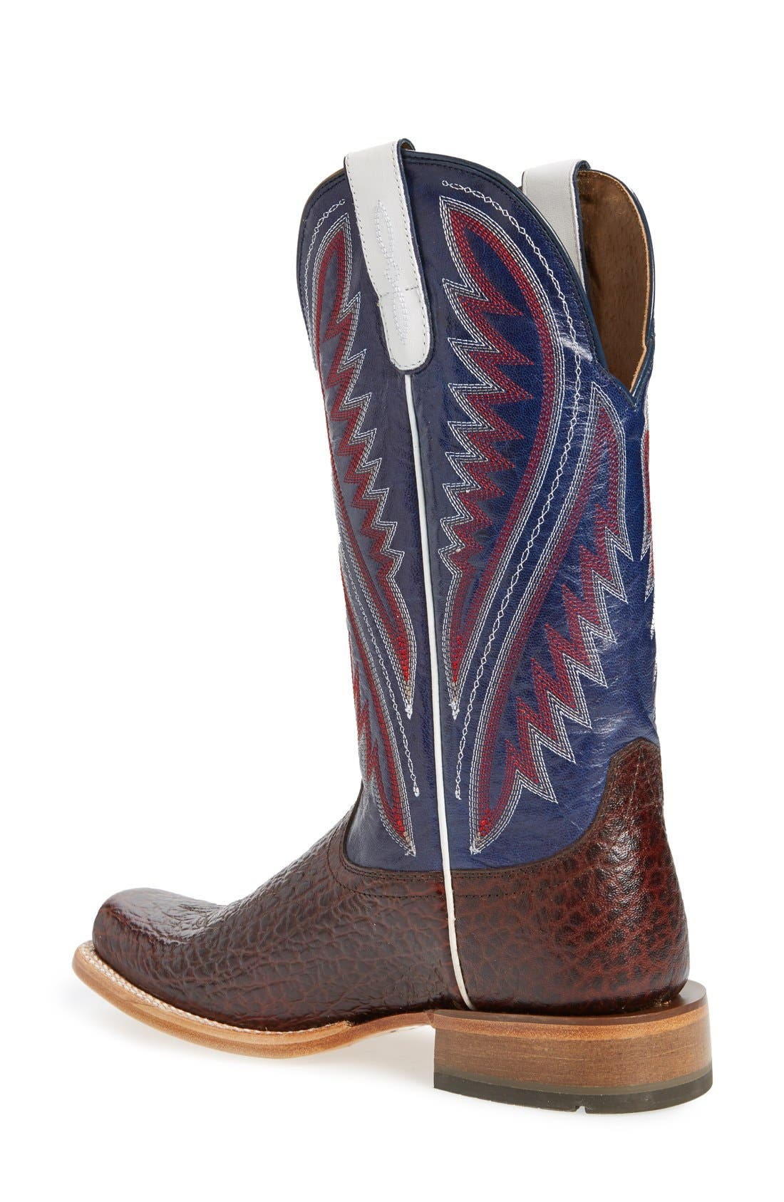 Alternate Image 2  - Ariat 'Hoolihan' Cowboy Boot (Men)