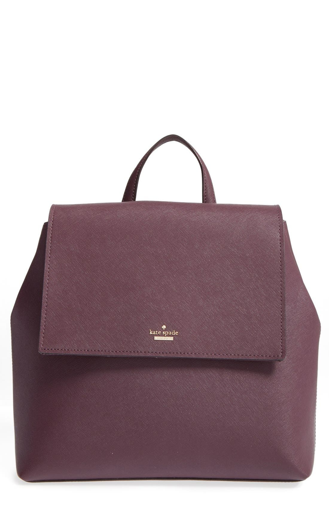 Alternate Image 1 Selected - kate spade new york 'cameron street - neema' leather backpack