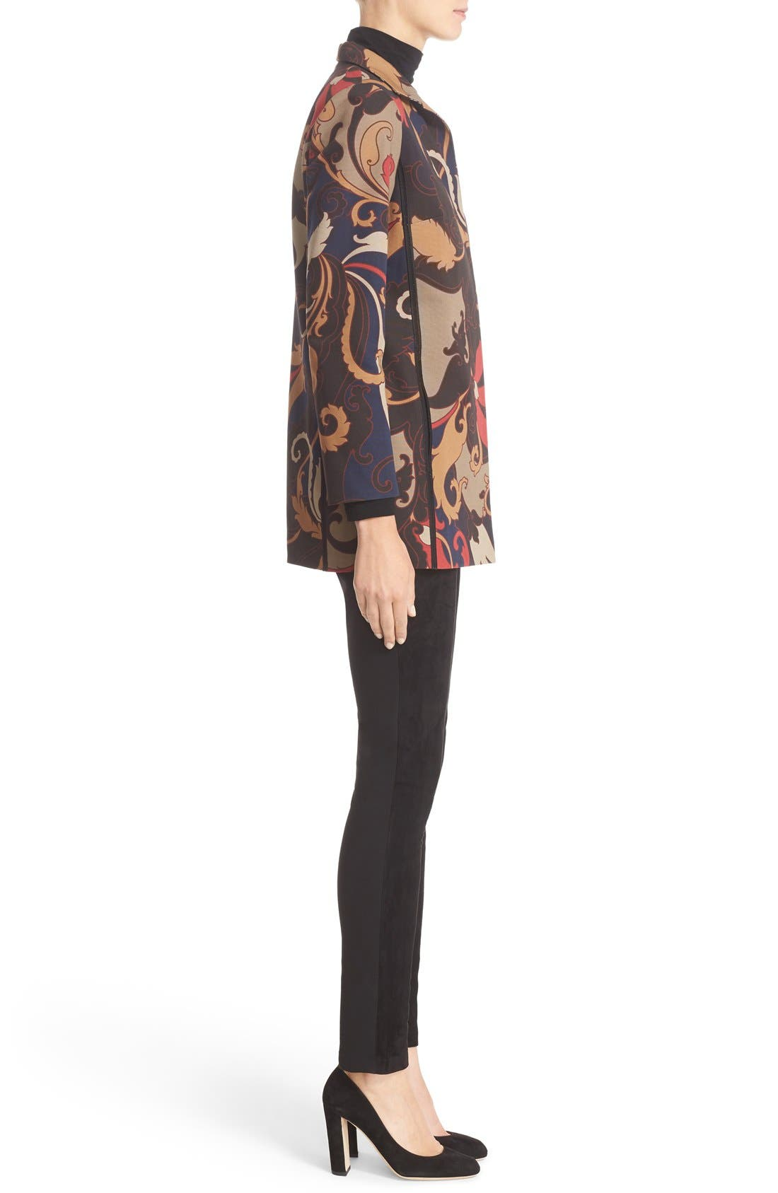 Alternate Image 5  - Lafayette 148 New York 'Luciana' Print Jacket
