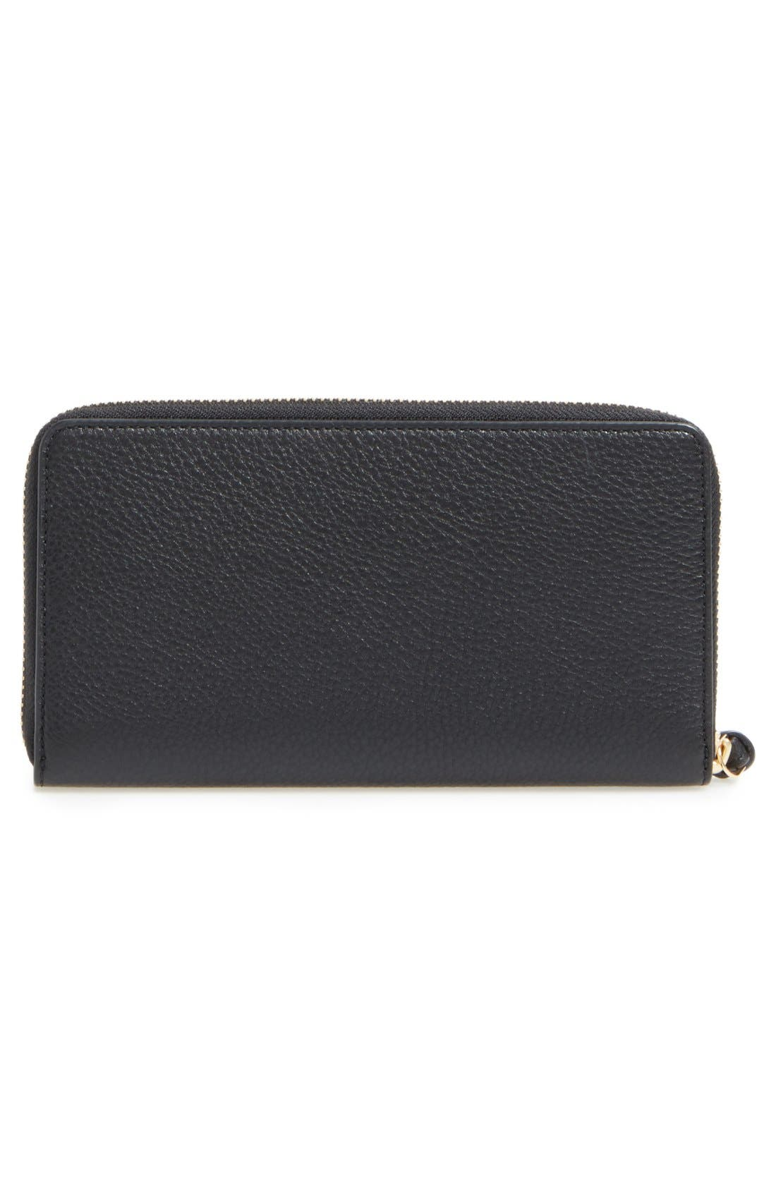 Alternate Image 4  - Tory Burch 'Harper' Leather Zip Continental Wallet