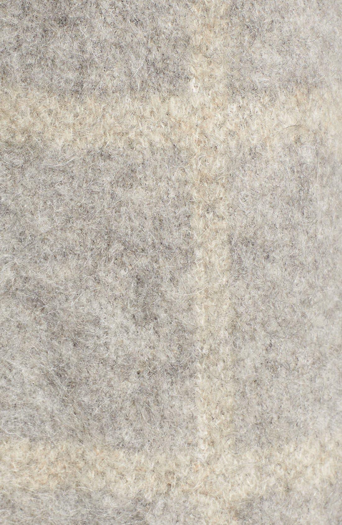 Alternate Image 5  - Eileen Fisher Plush Open Front Long Cardigan