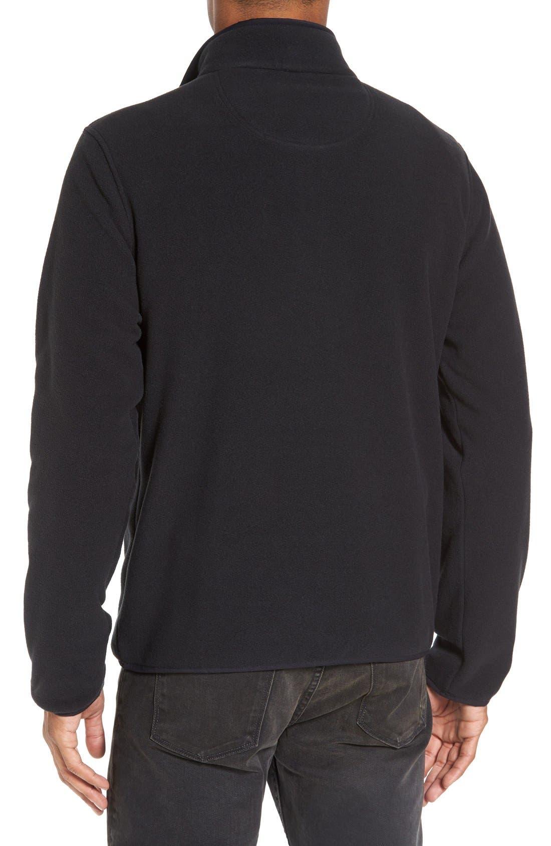 Alternate Image 2  - Nordstrom Men's Shop Polar Fleece Quarter Zip Pullover (Regular & Tall)