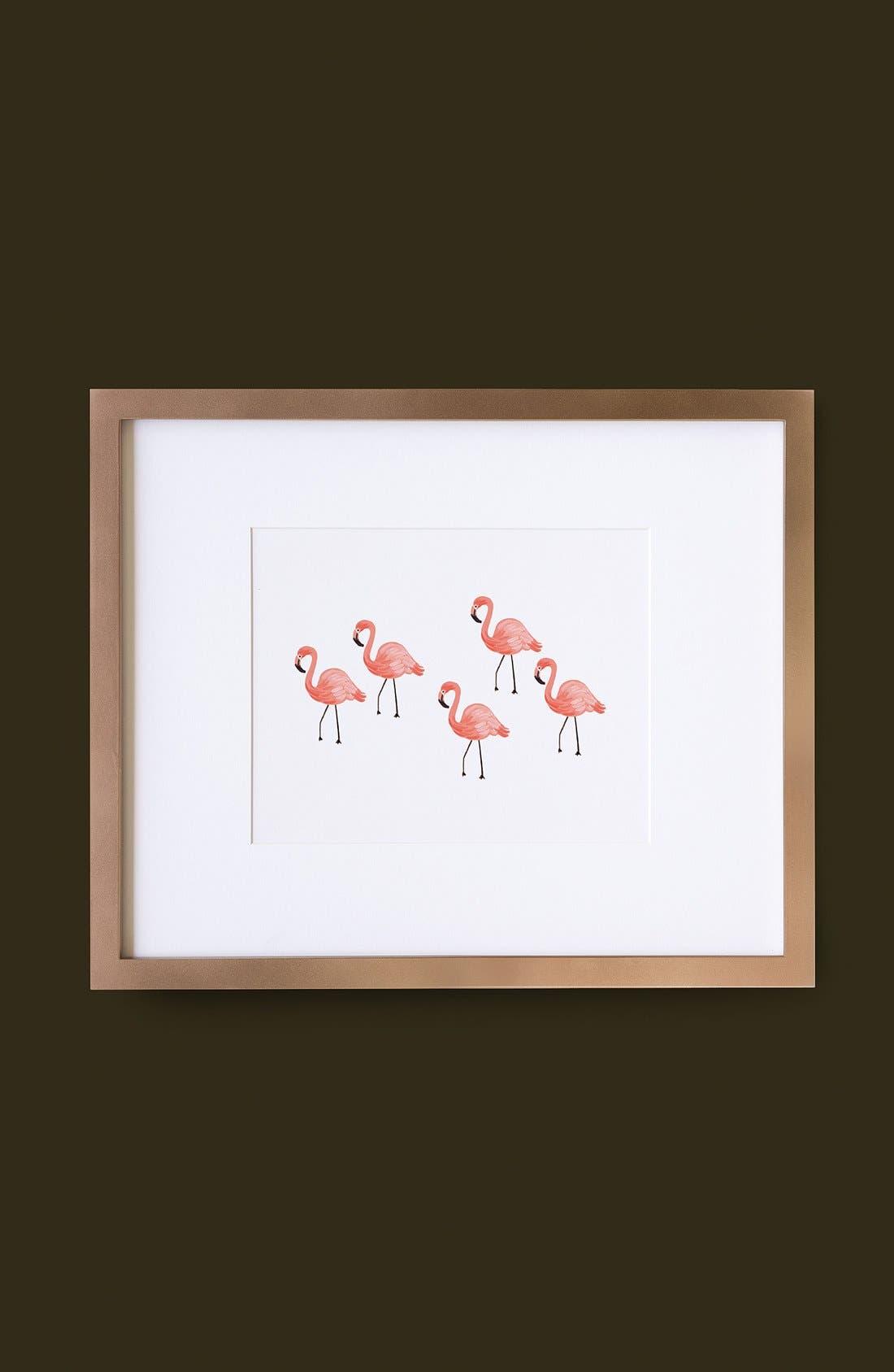 Alternate Image 2  - Rifle Paper Co. 'Flamingo' Art Print