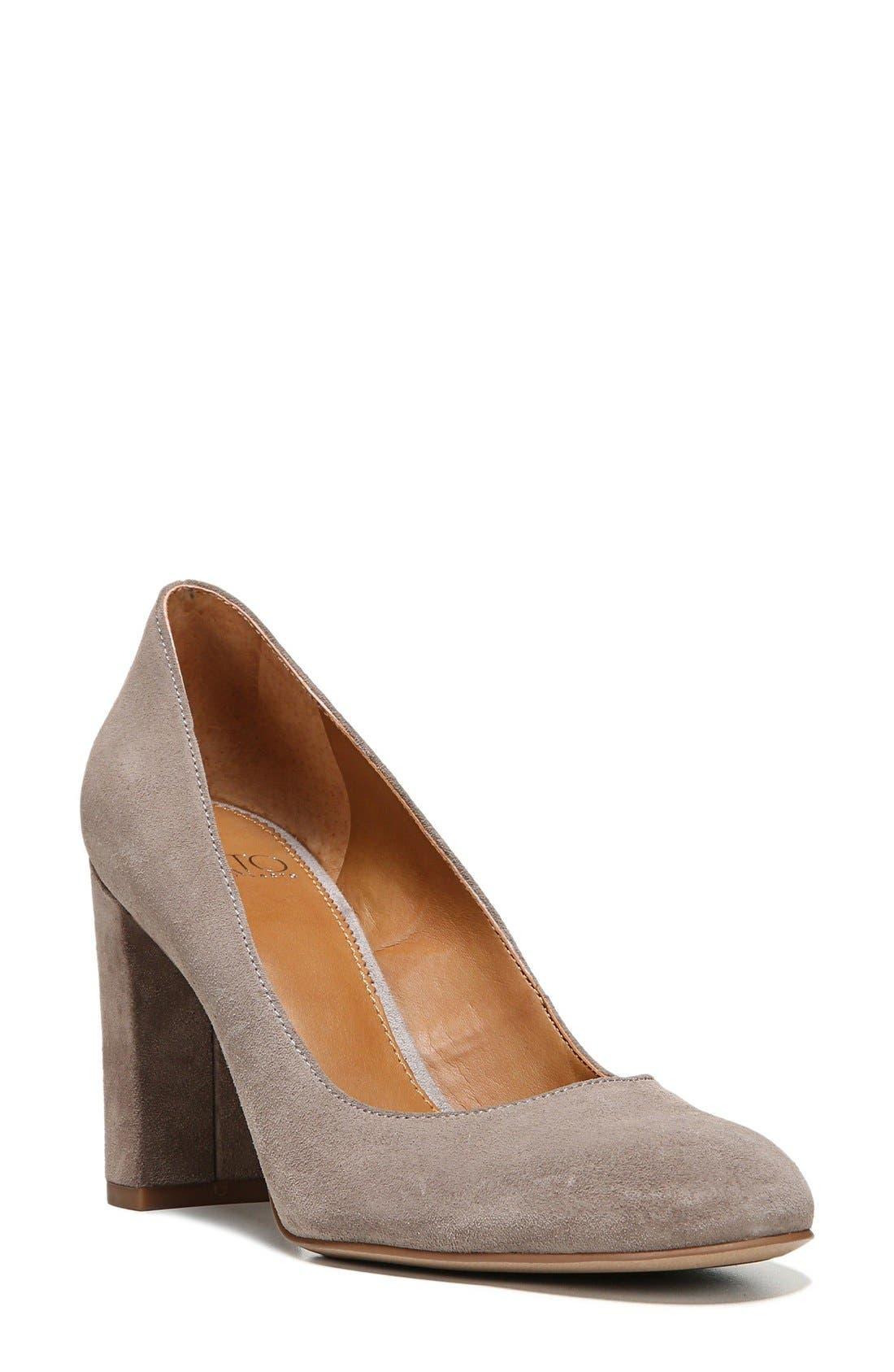 SARTO by Franco Sarto Aziza Block Heel Pump (Women)