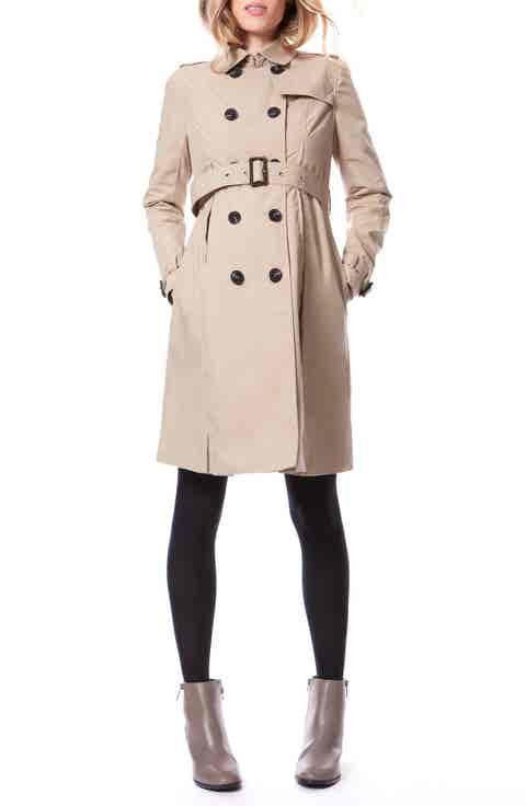 Seraphine Alina Maternity Trench Coat