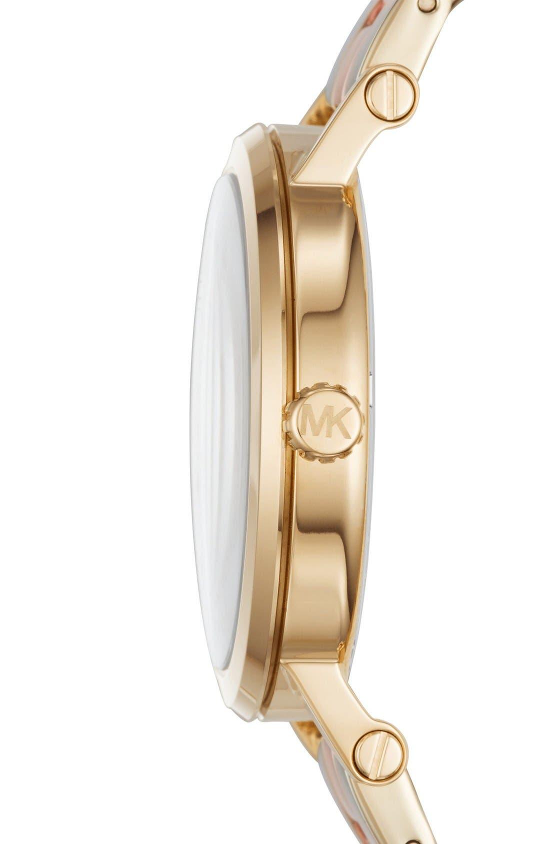 Alternate Image 2  - Michael Kors Norie Bracelet Watch, 39mm