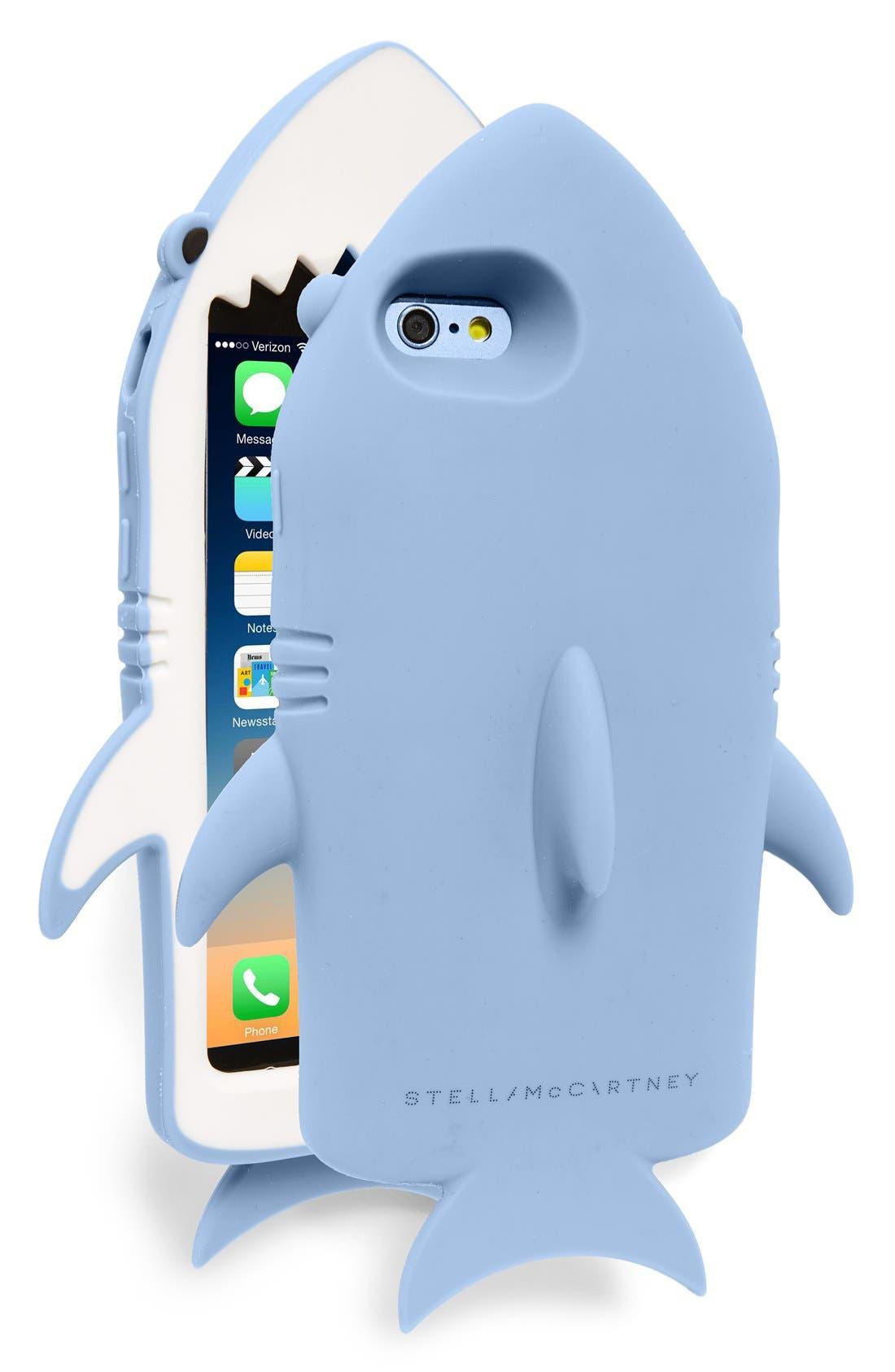 Alternate Image 1 Selected - Stella McCartney Shark iPhone 6/6s Case