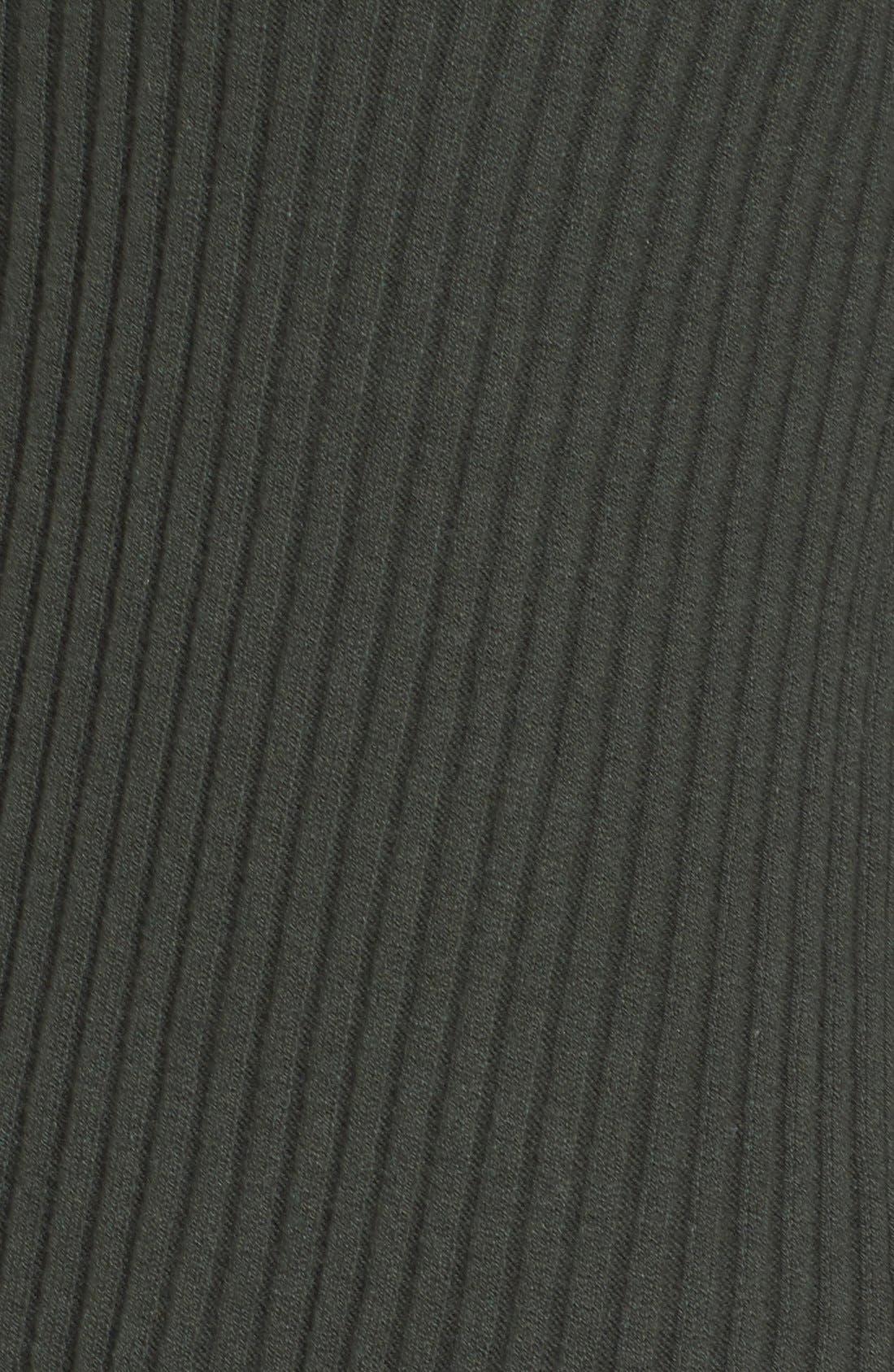 Alternate Image 5  - Caslon® Asymmetrical Ribbed Sweater