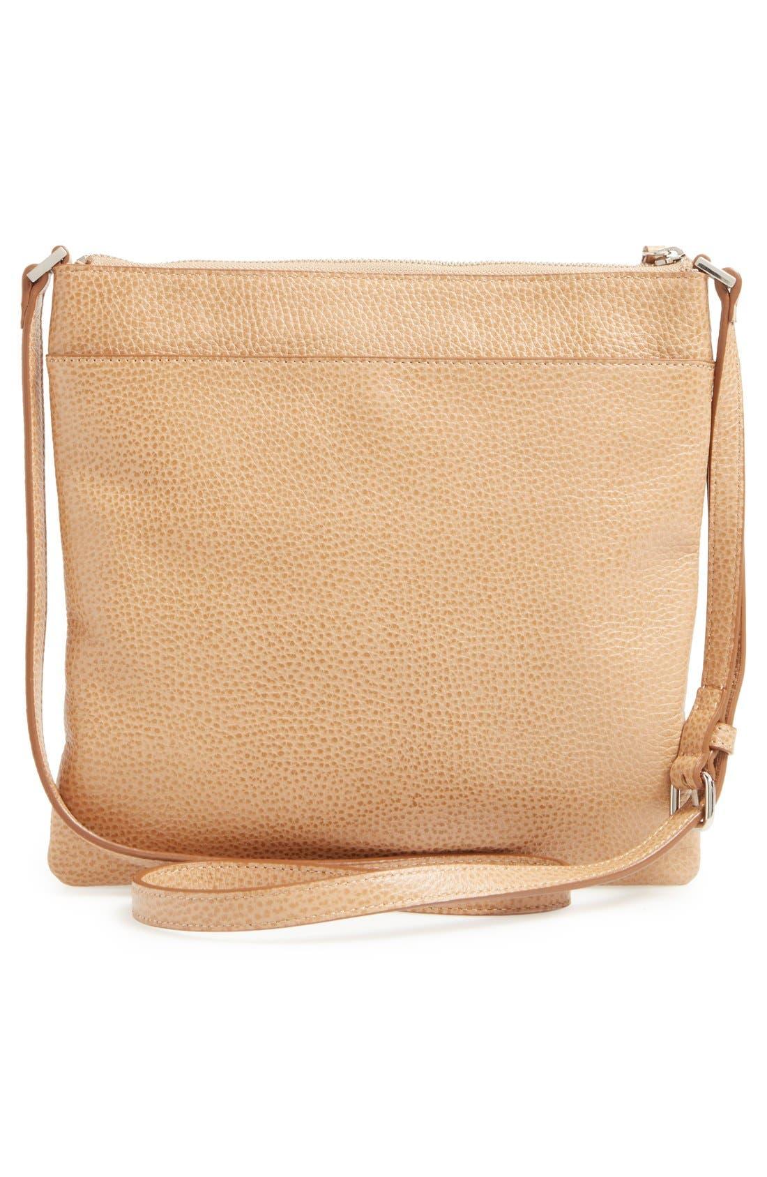 Alternate Image 3  - Halogen® Tasseled Leather Crossbody Bag