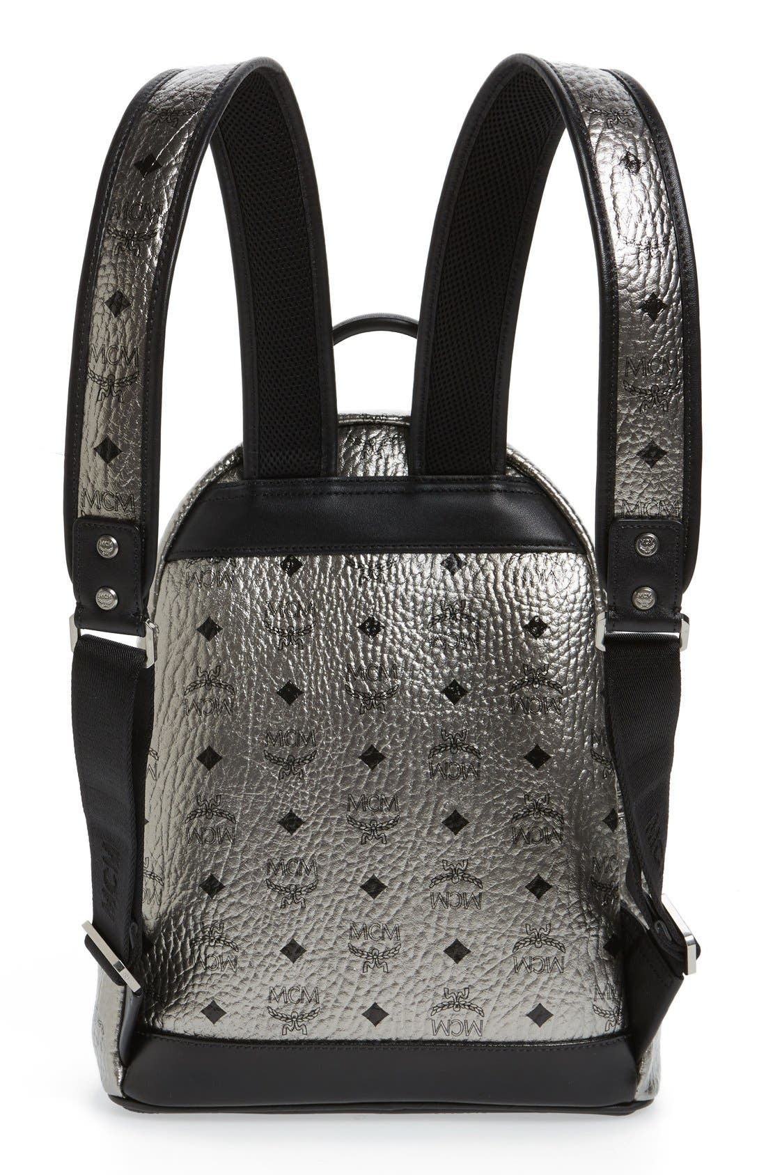 Alternate Image 3  - MCM 'Small Stark' Studded Backpack