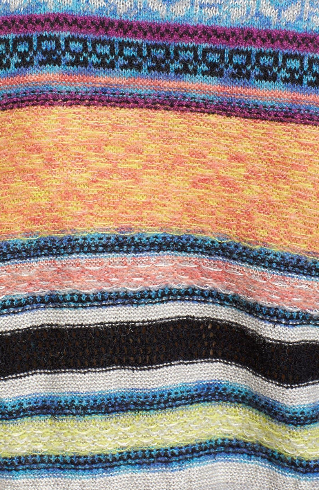 Alternate Image 5  - Free People This & That Mix Stitch Stripe Sweater