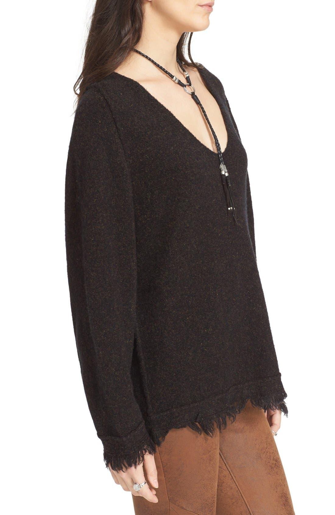 Alternate Image 3  - Free People Irresistible Fringe Trim Sweater