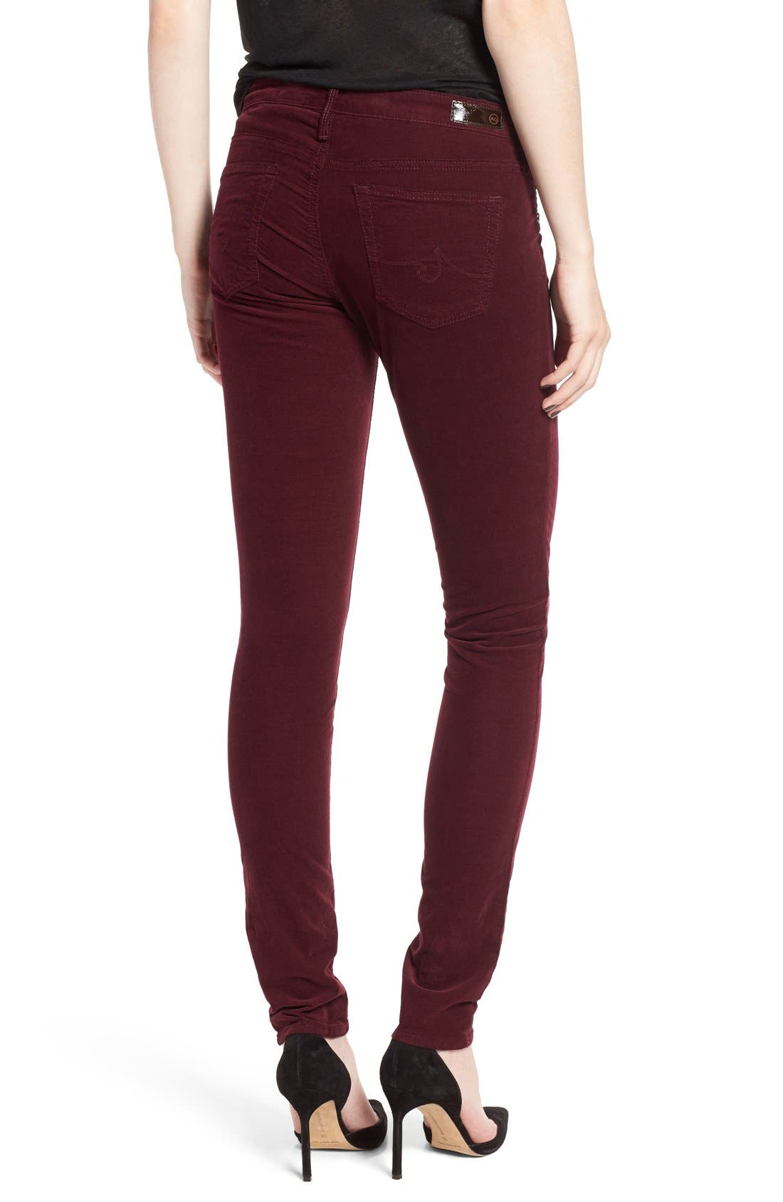Alternate Image 2  - AG Jeans Stretch Corduroy Pants