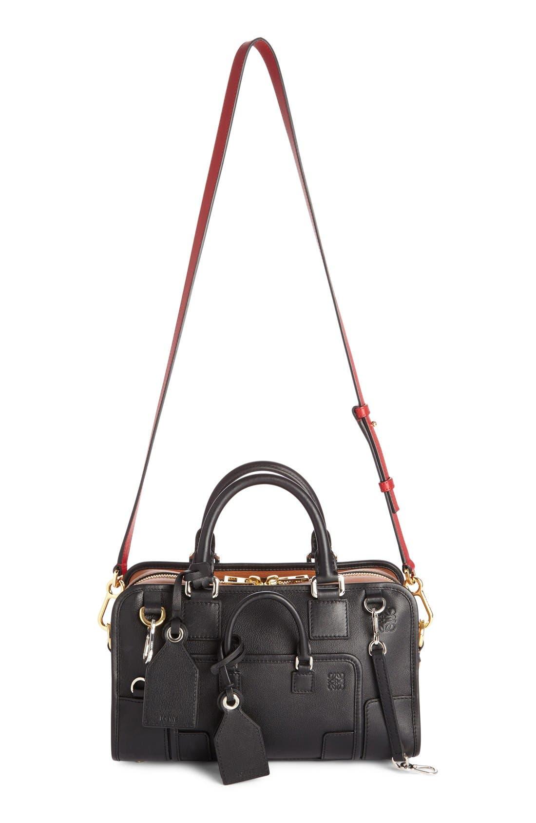 Loewe 'Amazona Multiplication' Bicolor Leather Satchel
