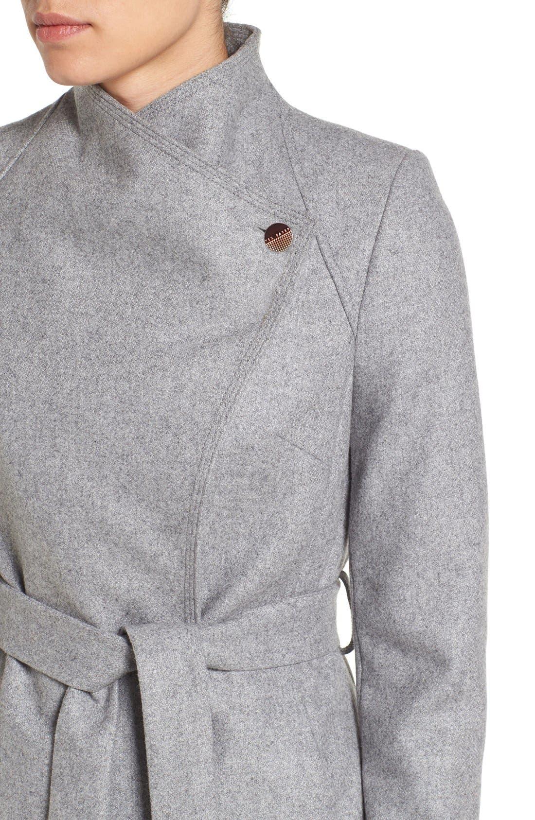 Alternate Image 4  - Ted Baker London Wrap Coat