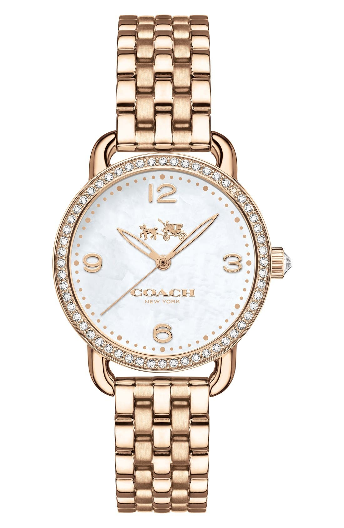 COACH 'Delancey' Bracelet Watch, 28mm