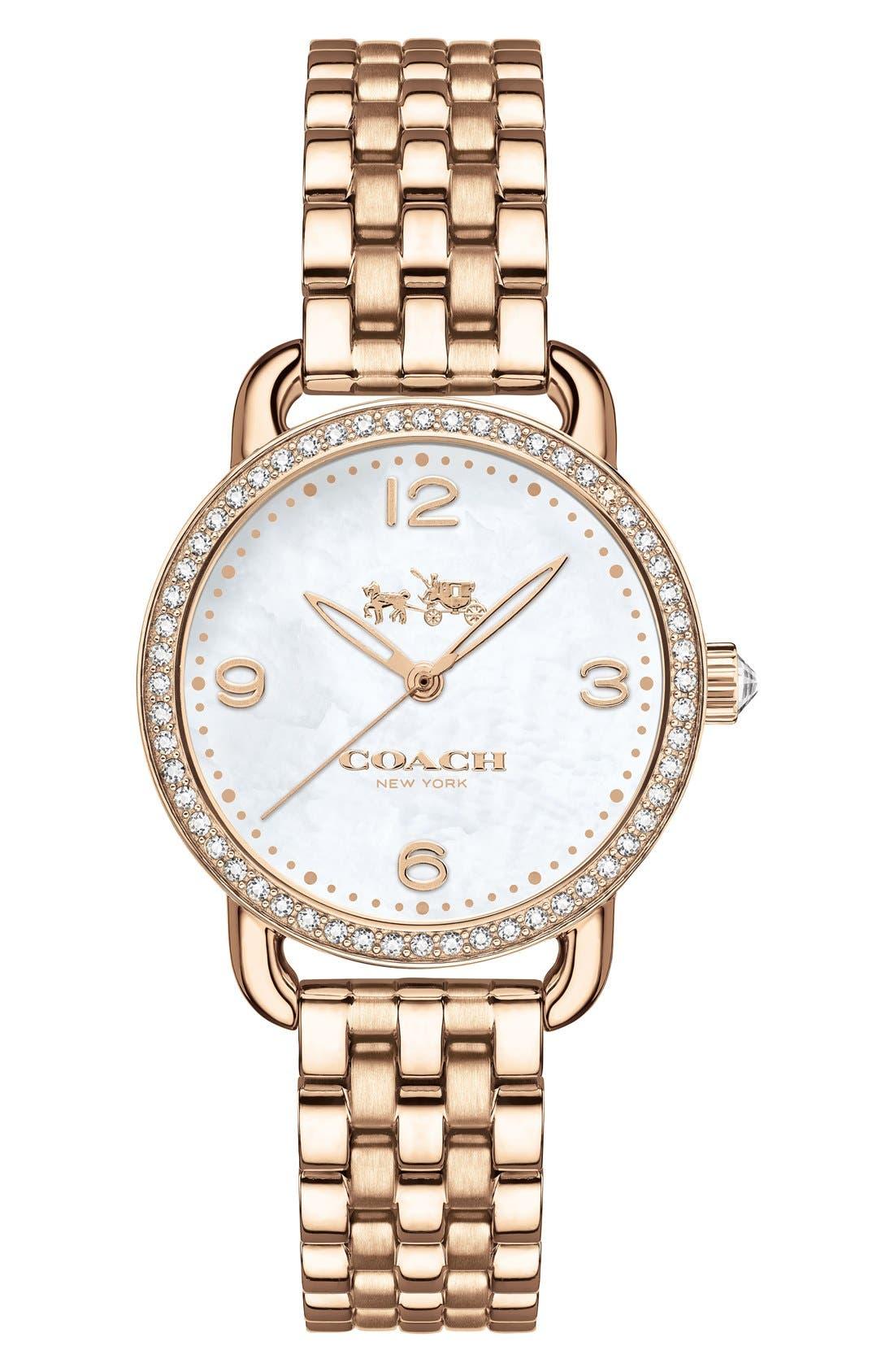 COACH 'Delancey' Bracelet Watch, 28mm