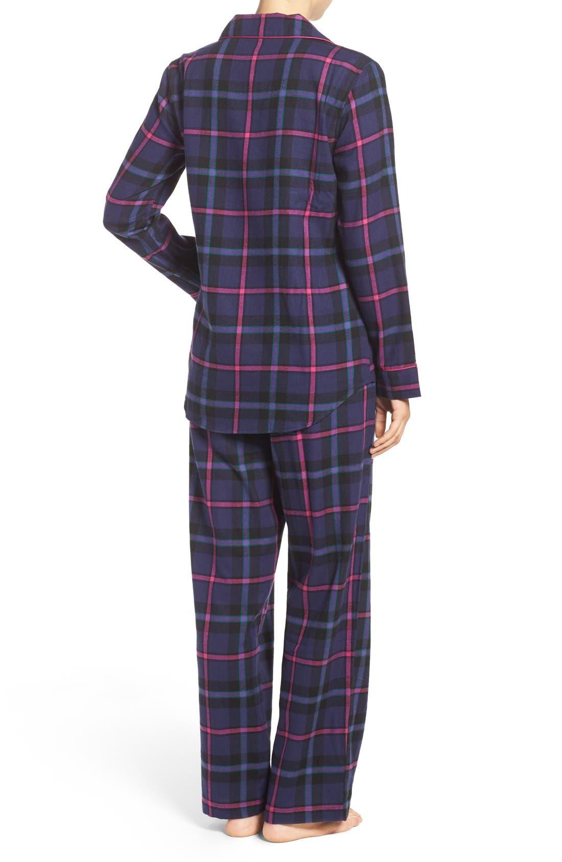 Alternate Image 3  - Lauren Ralph Lauren Twill Pajamas