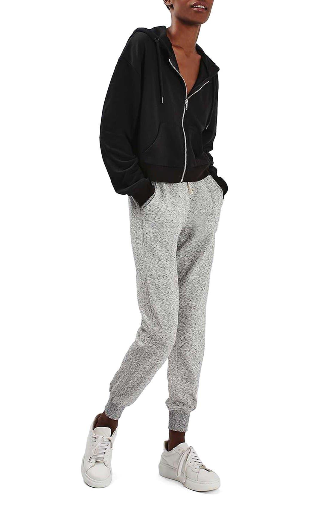 Alternate Image 2  - Topshop Nep Jogger Pants
